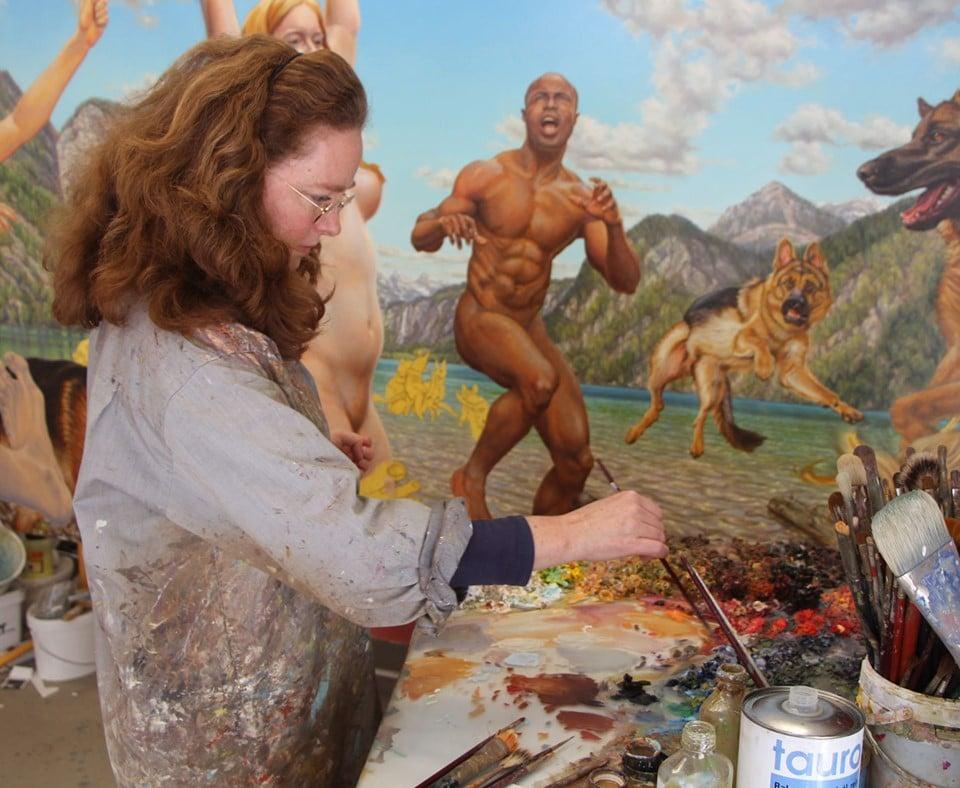 Susannah Martin Painting 1 KULTLIGHT: Susannah Martin