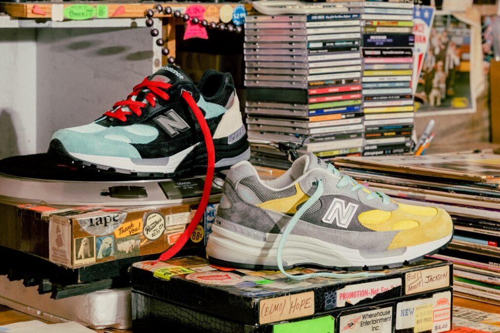 nice kicks amoeba music new balance 992 release date 1 Nice Kicks x Amoeba Music x New Balance 992