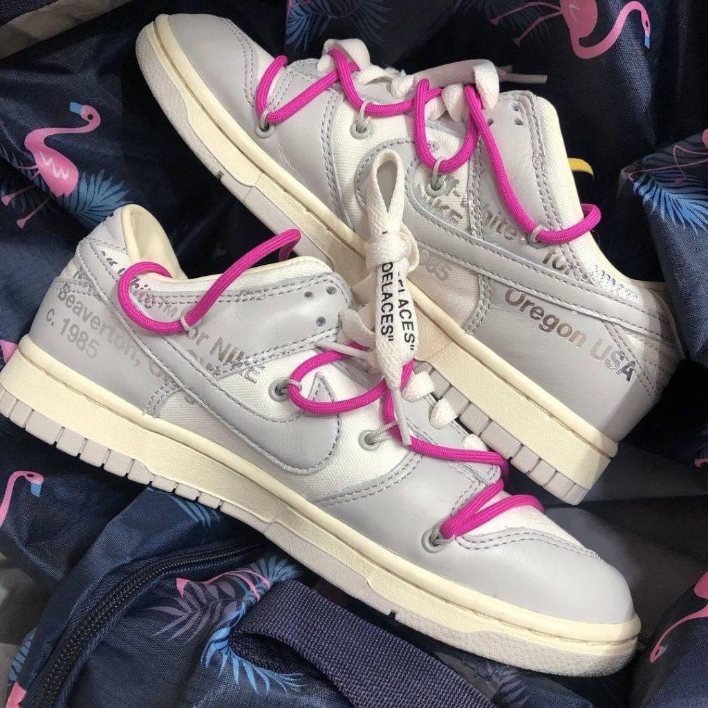"off white nike dunk low 50 2021 1 Off-White x Nike Dunk Low ""The 50"""