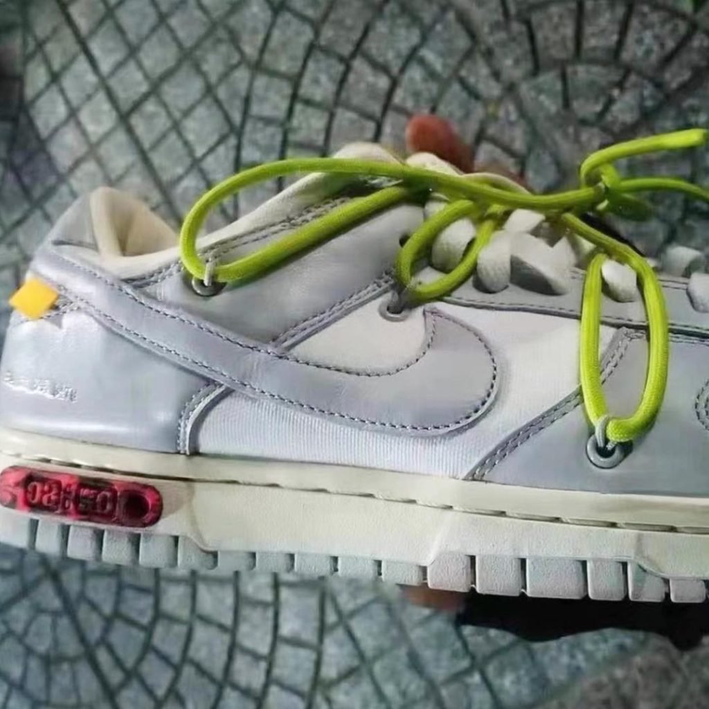 "off white nike dunk low 50 2021 3 Off-White x Nike Dunk Low ""The 50"""