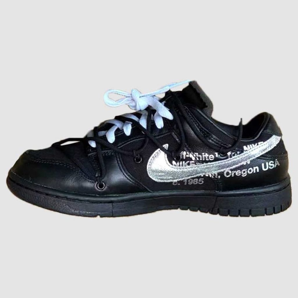 "off white nike dunk low 50 2021 4 Off-White x Nike Dunk Low ""The 50"""