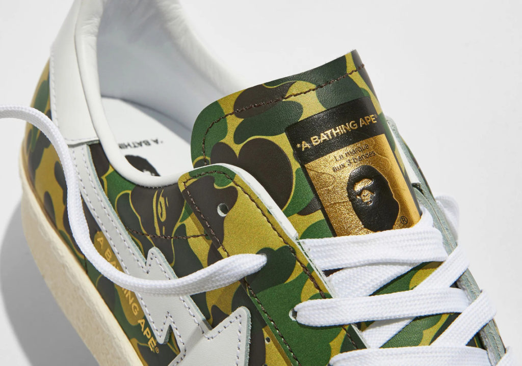 "BAPE adidas Superstar GZ8981 03 BAPE x adidas Superstar ""Green Camo"""