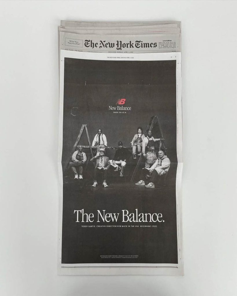 The New York Times New Balance