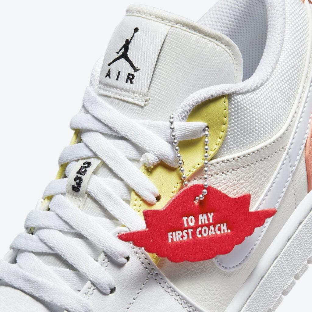 """Air Jordan 1 Low To My First Coach DJ6909 6 Air Jordan: """"Az első edzőmnek"""" kollekció"""