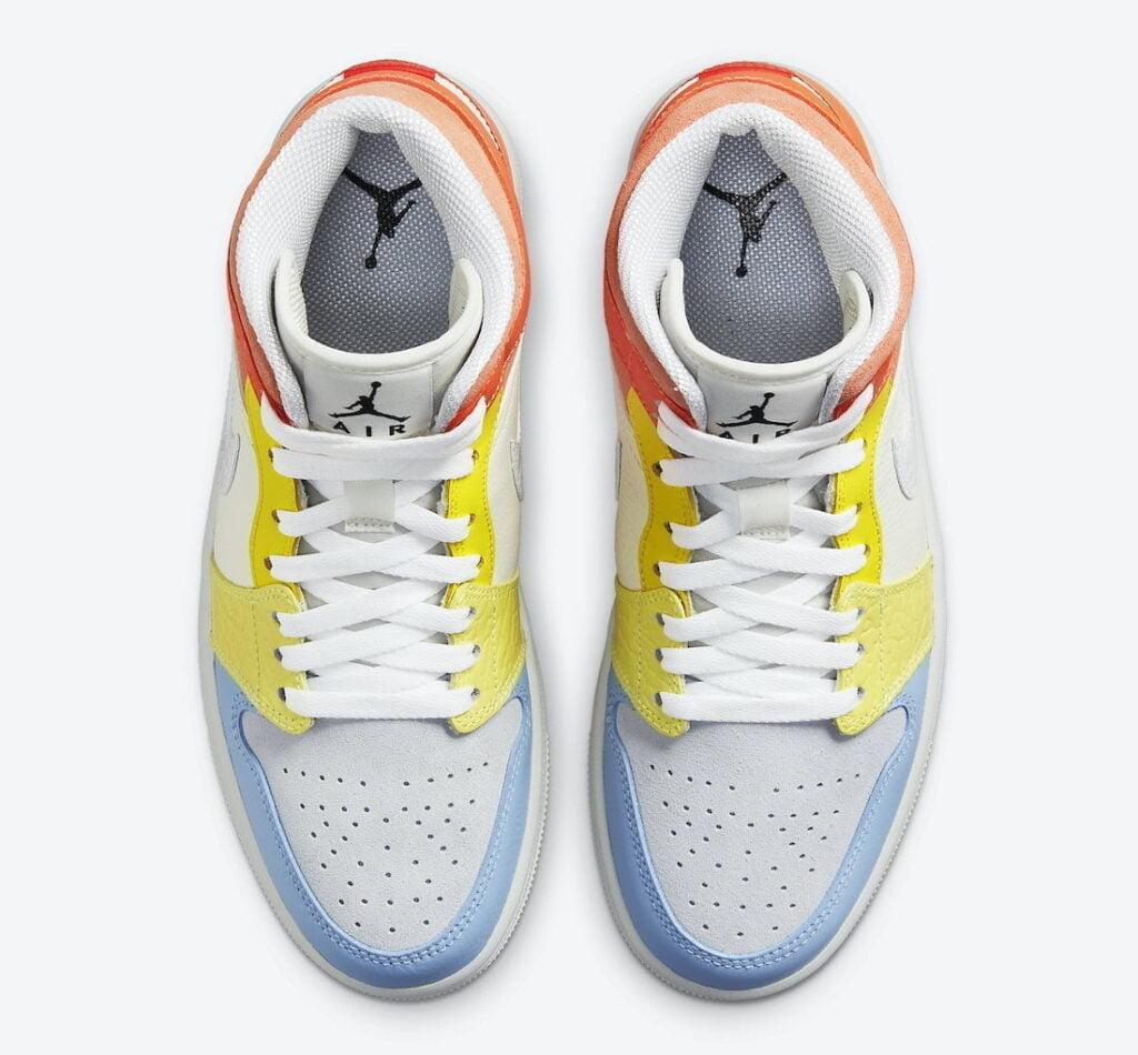 """Air Jordan 1 Mid To My First Coach DJ6908 100 4 Air Jordan: """"Az első edzőmnek"""" kollekció"""