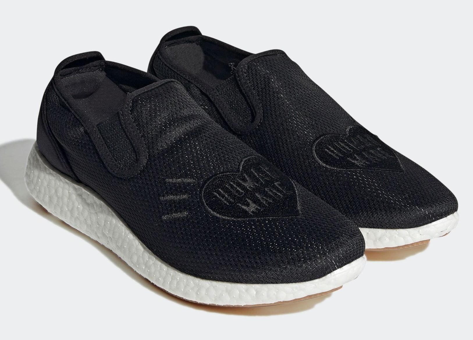 HUMAN MADE x ADIDAS ORIGINALS PURE SLIP ON H02546 3 Human Made x adidas Originals Slip-On PureBoost