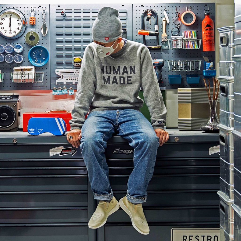 NIGO Human Made x adidas Originals Slip-On PureBoost