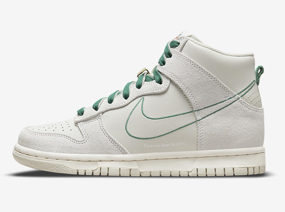 """NIKE DUNK HIGH First use June 18.1971 DD0733 001 8 Nike Dunk High """"First Use"""""""