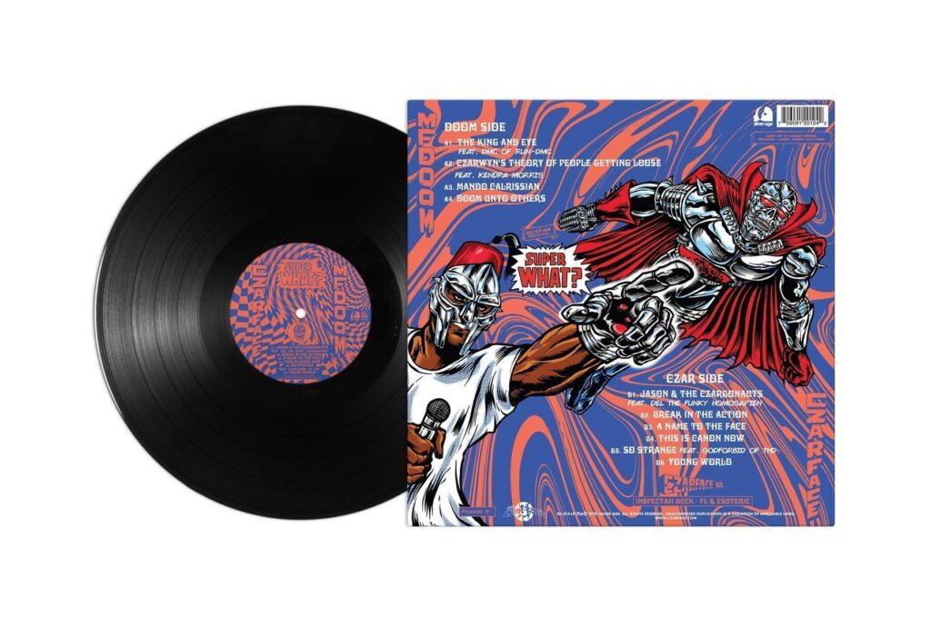 SIL015 LP BLK 02 1800x1800 CZARFACE & MF DOOM - Super What?