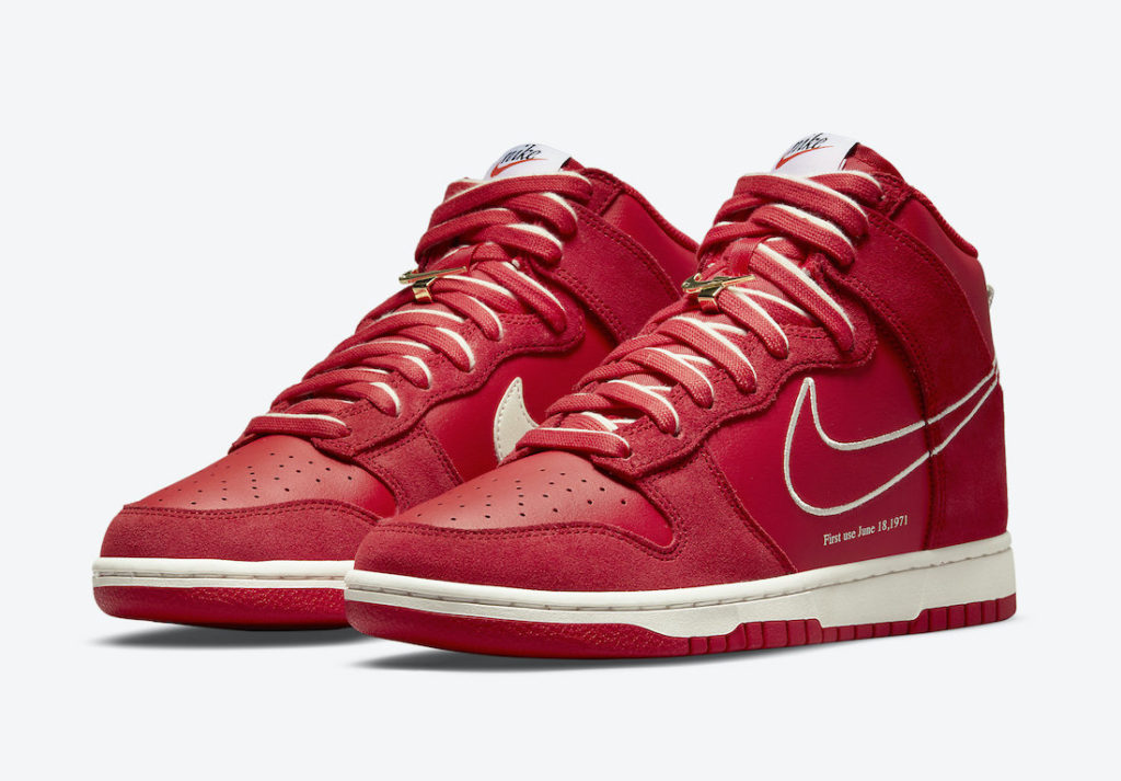 """Nike Dunk High First Use University Red DH0960 600 1 Nike Dunk High """"First Use"""""""