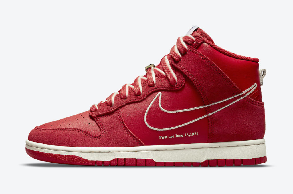 """Nike Dunk High First Use University Red DH0960 600 2 Nike Dunk High """"First Use"""""""