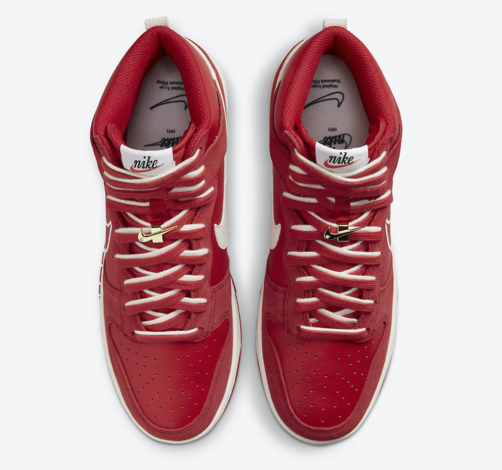 """Nike Dunk High First Use University Red DH0960 600 4 Nike Dunk High """"First Use"""""""