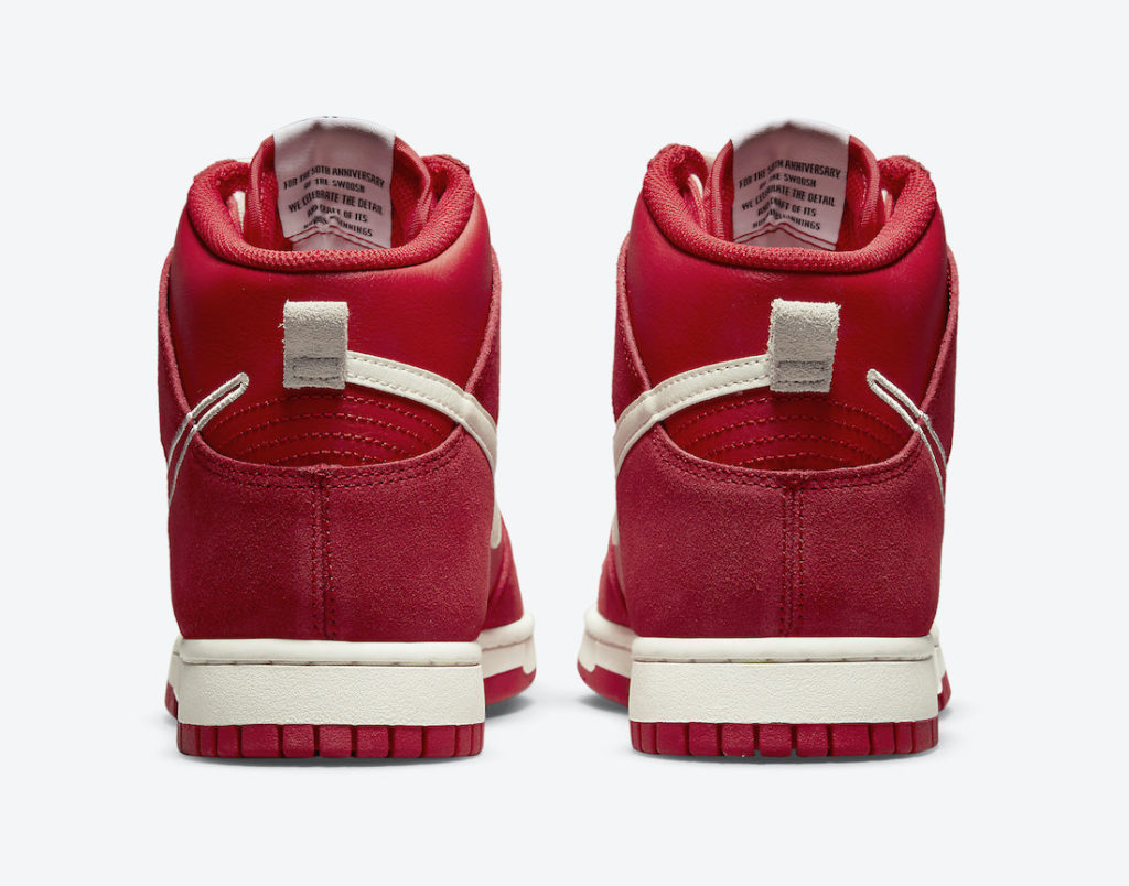 """Nike Dunk High First Use University Red DH0960 600 5 Nike Dunk High """"First Use"""""""
