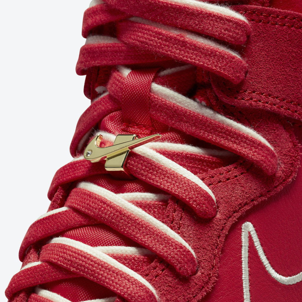 """Nike Dunk High First Use University Red DH0960 600 7 Nike Dunk High """"First Use"""""""