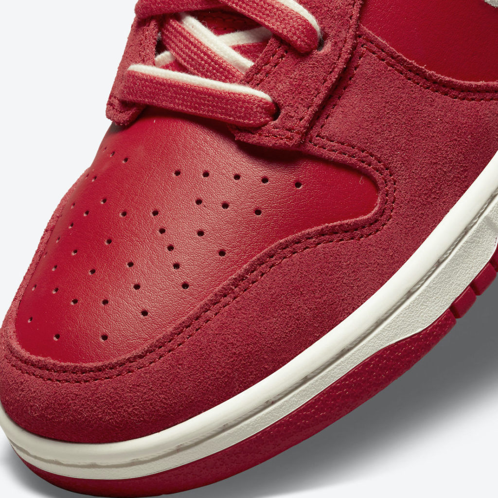 """Nike Dunk High First Use University Red DH0960 600 8 Nike Dunk High """"First Use"""""""
