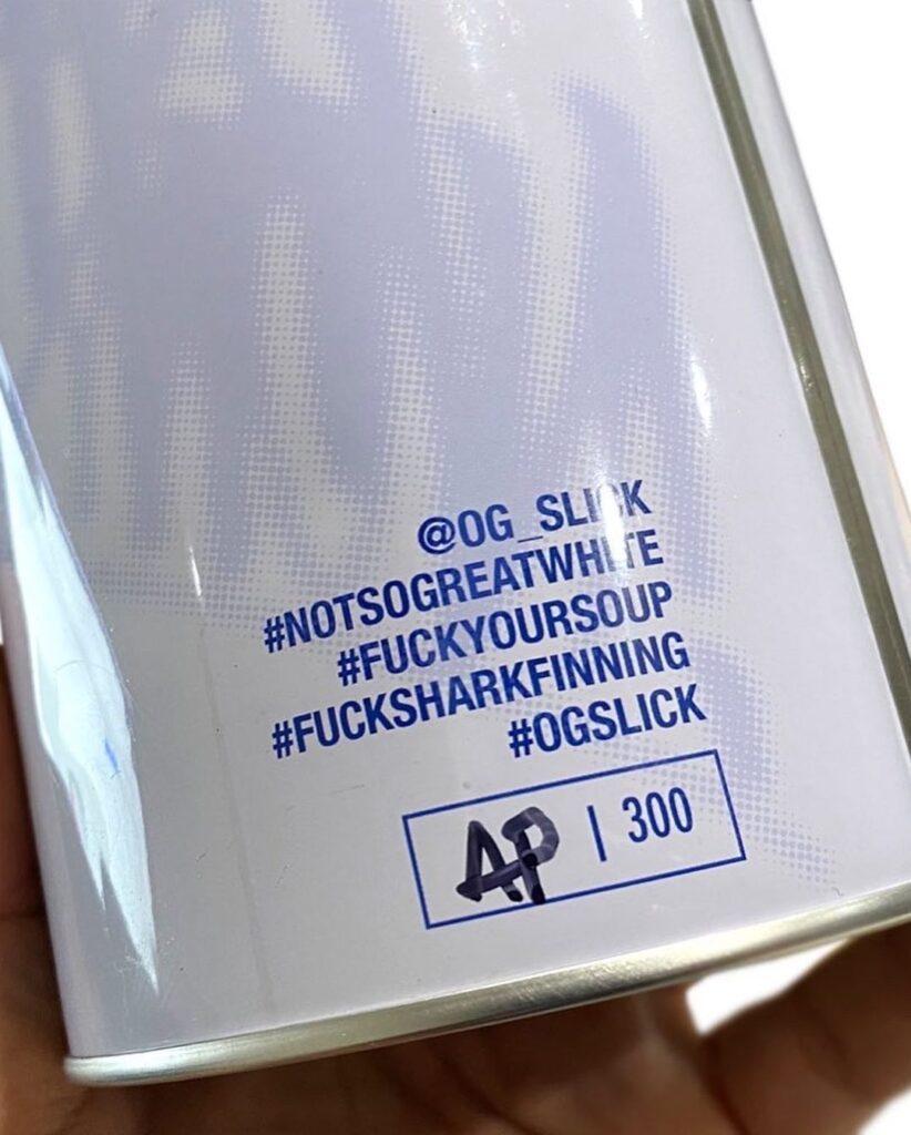 OG Slick Shark Plush 4 OG SLICK: B*szd meg a cápauszonylevesed