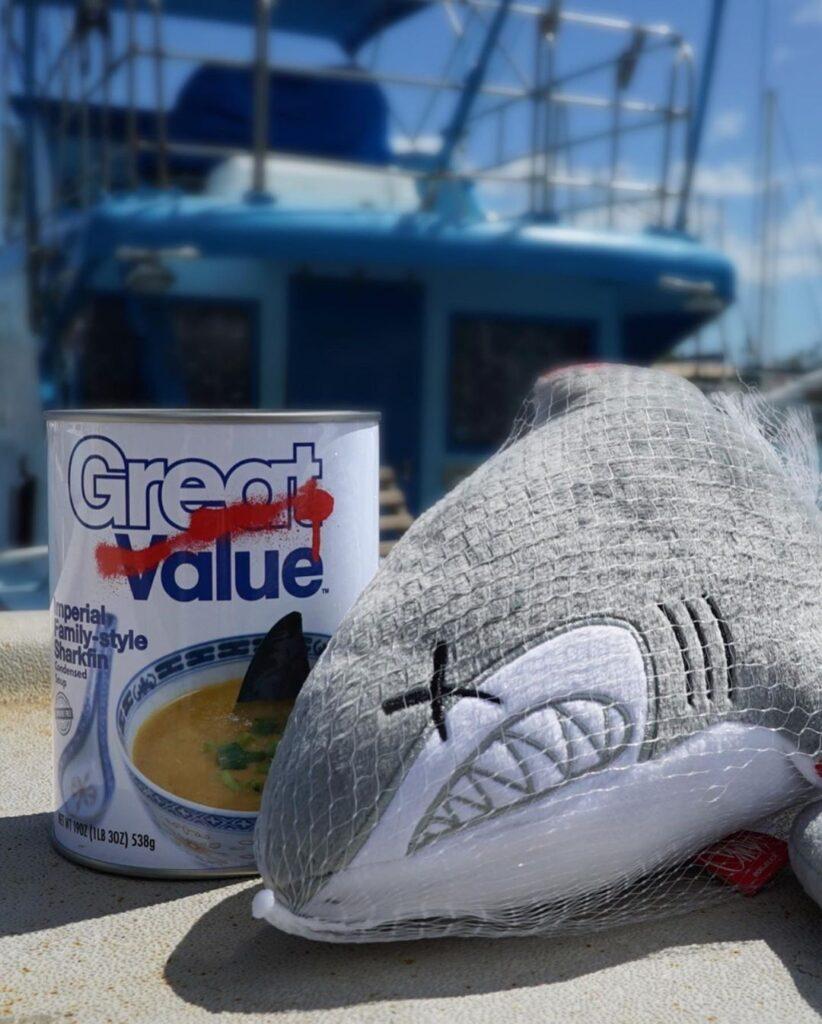 OG Slick Shark Plush 5 OG SLICK: B*szd meg a cápauszonylevesed