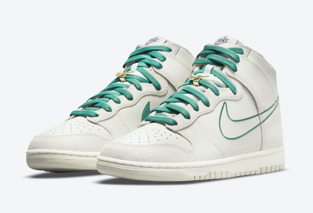 """nike dunk high first use green noise DH0960 001 0 Nike Dunk High """"First Use"""""""
