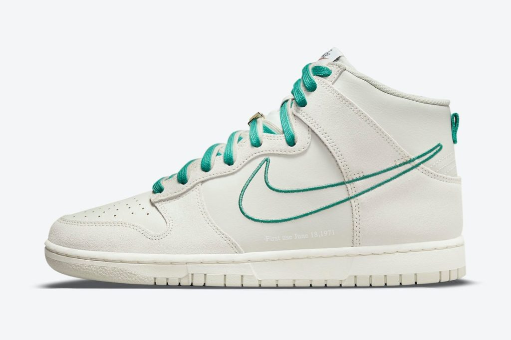 """nike dunk high first use green noise DH0960 001 1 Nike Dunk High """"First Use"""""""