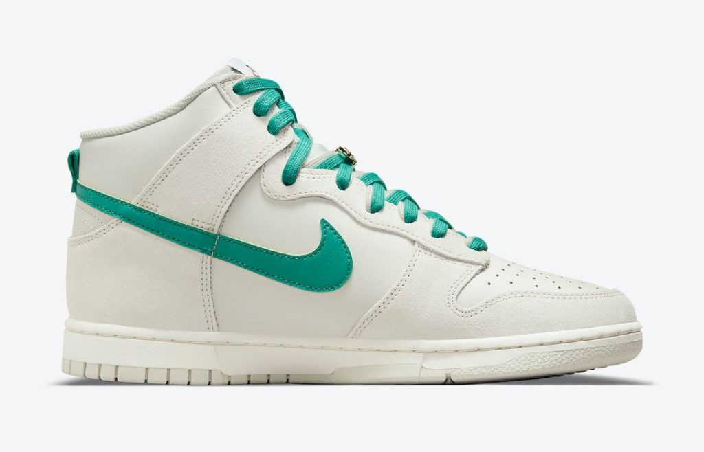 """nike dunk high first use green noise DH0960 001 2 Nike Dunk High """"First Use"""""""