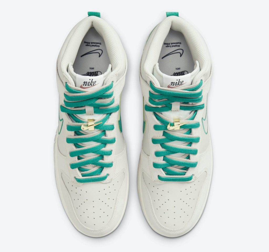 """nike dunk high first use green noise DH0960 001 3 Nike Dunk High """"First Use"""""""