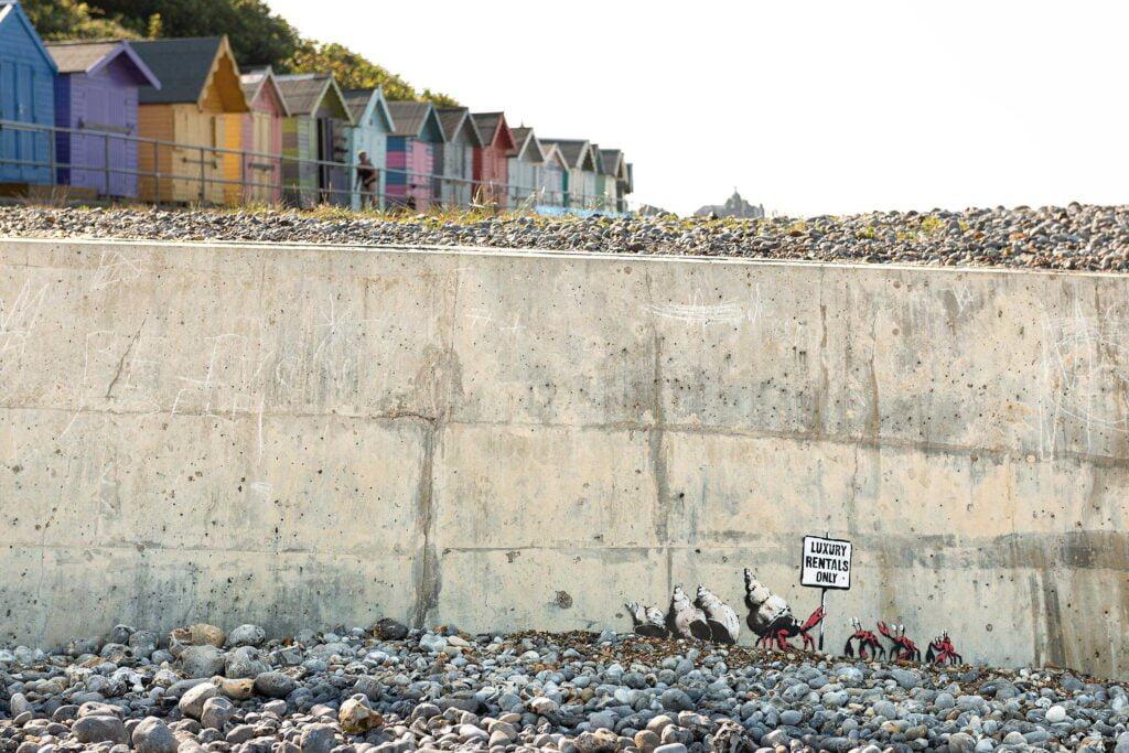 06 spraycation crabs wide Banksy: A Great British Spraycation