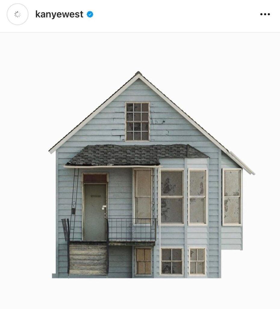 kanye house 9 1 Kanye éppen újraépítteti gyerekkori házának mását harmadik Donda bulira
