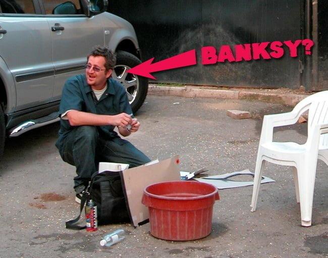 robingunninghambanksy Banksy: A Great British Spraycation